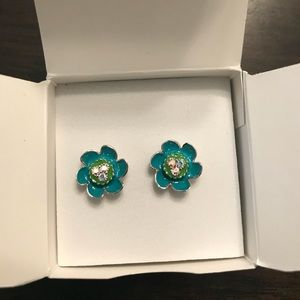 Origami Owl Trolls Flower Earrings